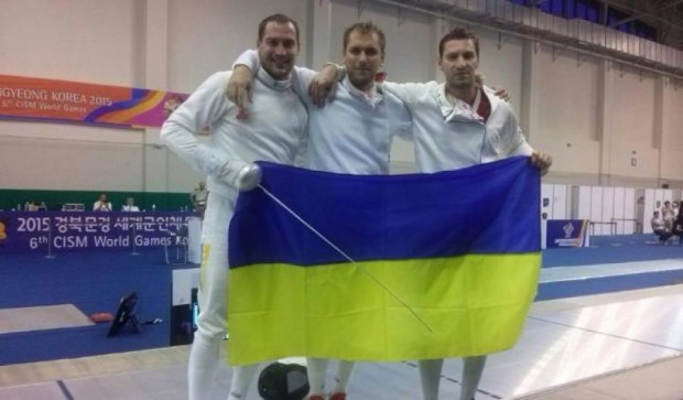 Українські шпажисти завоювали золоті нагороди на Всесвітніх Іграх у Кореї