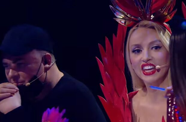 "Полякова і Данилко на шоу ""Маска"", facebook.com/MaskaUkraineTV"