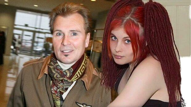 Александр Малинин с дочкой Кирой, фото из свободных источников