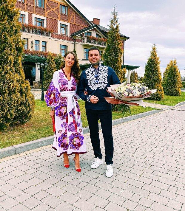 Григорій Решетник з дружиною