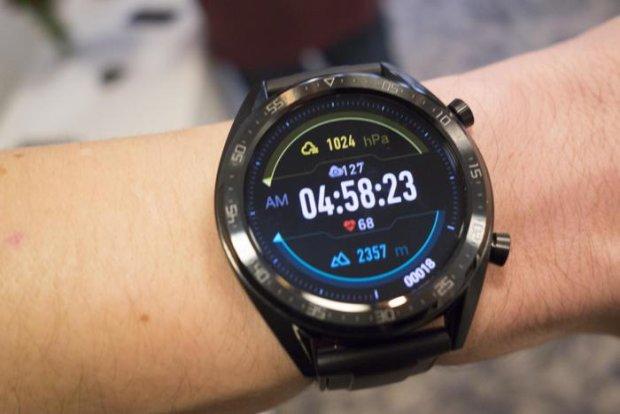 Huawei Watch GT стали доступными для украинцев: цена, характеристики