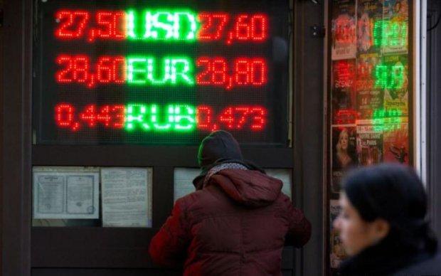 Курс валют на 29 квітня: долар поступився гривні