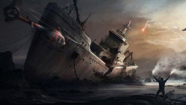 К берегу случайно прибило корабль-призрак, радары сходят с ума: фото таинственного судна