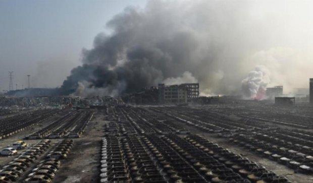 В Китае на складах слышно новые взрывы