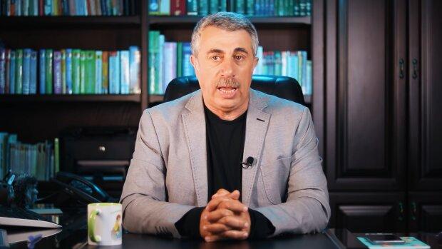 Євген Комаровський, кадр з відео: YouTube Доктор Комаровський