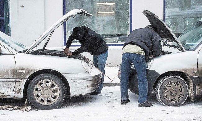 власники авто зимою