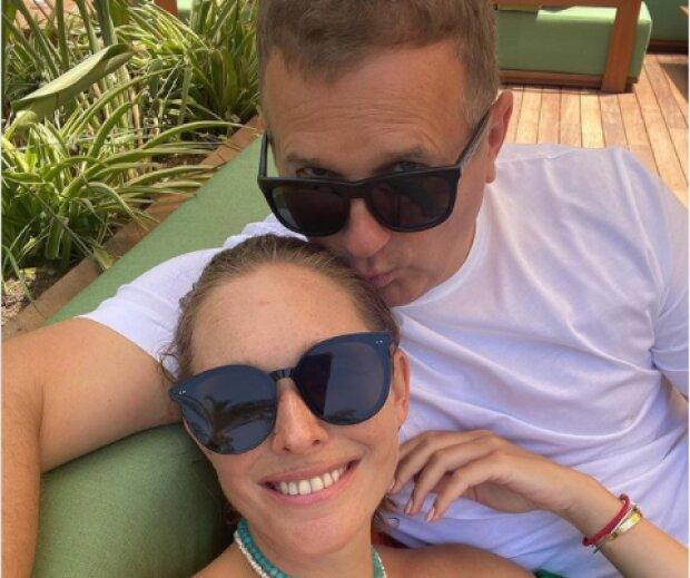 Юрий Горбунов с Катей Осадчей, фото с Instagram