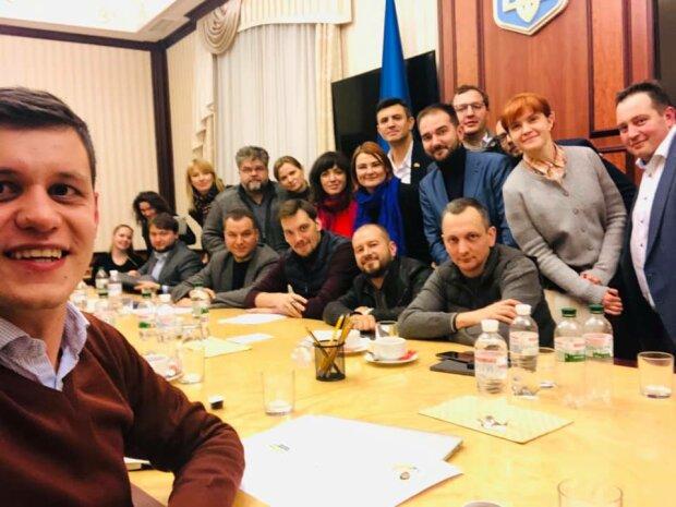 Роман Грищук з колегами зі Слуги народу