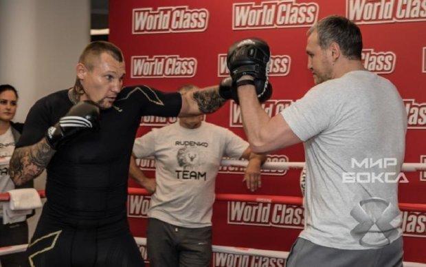 Украинец Руденко провел открытую тренировку перед боем с Поветкиным