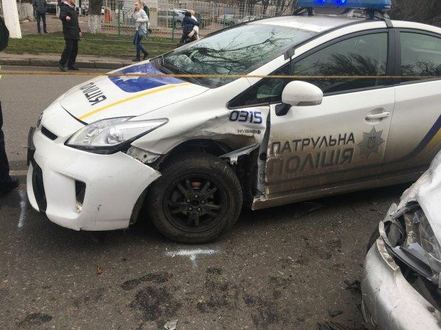 Розбиті авто і надії поліції: хто платить за сотні ДТП копів