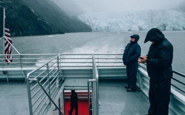 """На Аляске заметили уникальный """"алмазный свет"""""""