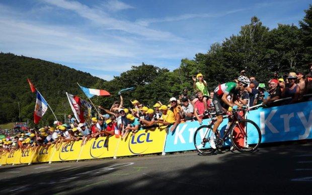 Тур де Франс: Ару виграв перший гірський етап, Фрум - лідер загального заліку