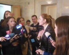 Анна Скороход, скриншот с видео