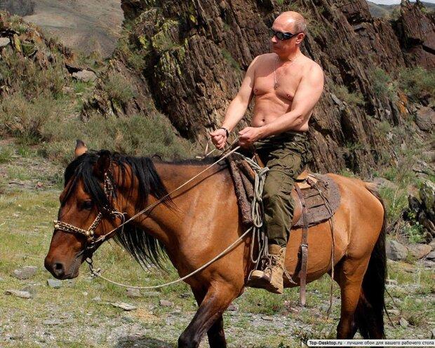 """Выходка Путина наделала шума, сеть пестрит фотожабами: """"Коней не меняют"""""""