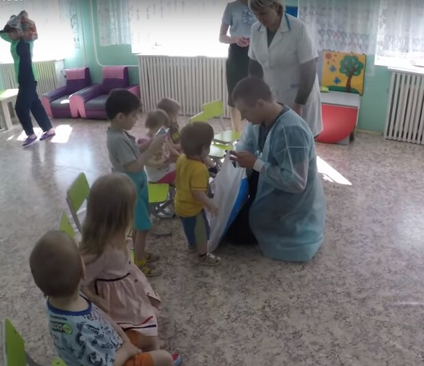 детский дом- скриншот из видео