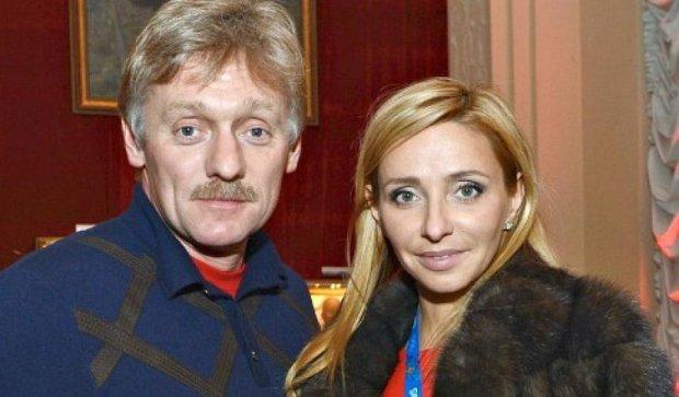 Наречена прес-секретаря Путіна виявилася американкою