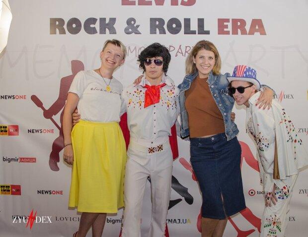 """Украинские артисты устроили рокенрольную вечеринку памяти Элвиса Пресли """"ELVIS. Rock & Roll Era. Memory Party"""""""