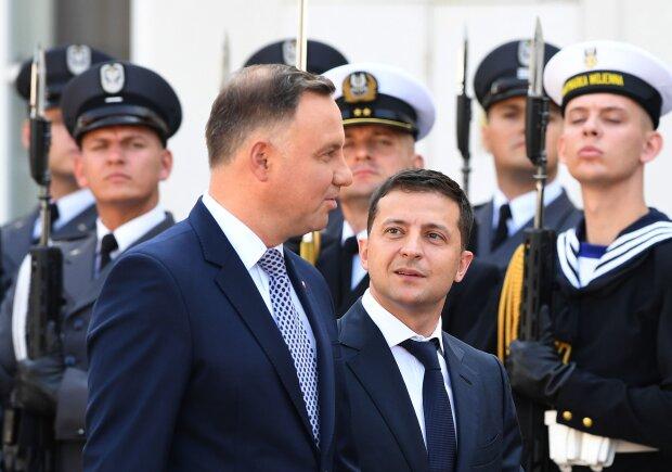 Дуда і Зеленський, фото: sputniknews
