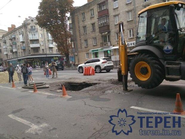 """В центре Тернополя открылся портал """"в ад"""""""