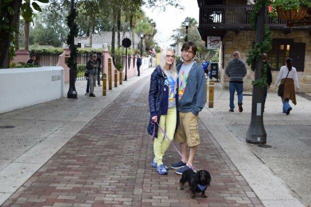 Ольга і Девід, фото: Галицький кореспондент