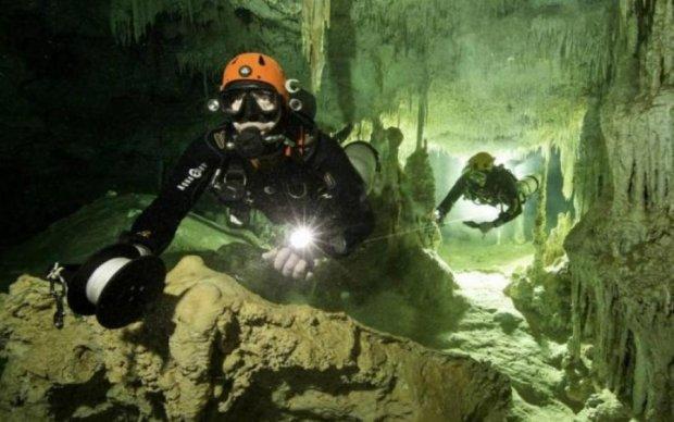 Подводные пещеры прольют свет на тайны Майя