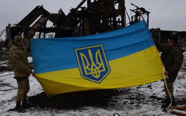 Це сталося: над окупованим Донбасом майорить український прапор