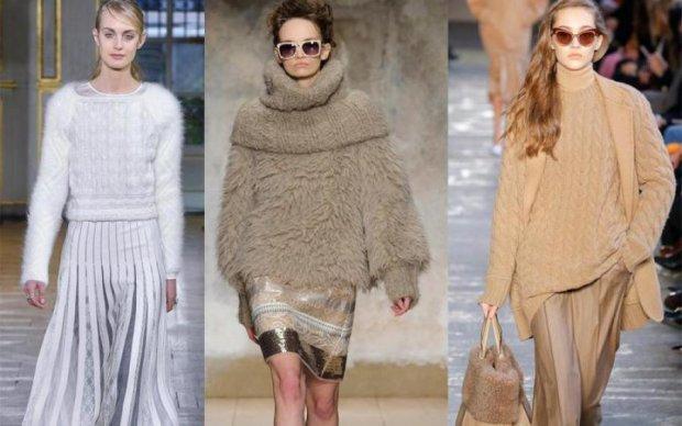 Будьте в тренде! С чем носить вязаный свитер