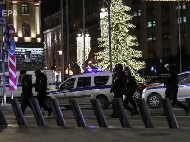 стрельба в центре Москвы, фото из свободных источников