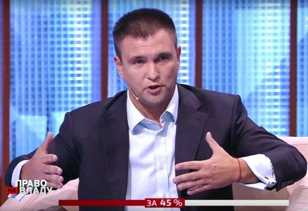 """Повло Клімкін в ефірі програми """"Право на владу"""""""