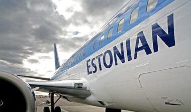 Естонський авіаперевізник Estonian Air не літатиме з Таллінна до Москви