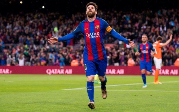 Барселона оригінально представила підписання нового контракту з Мессі