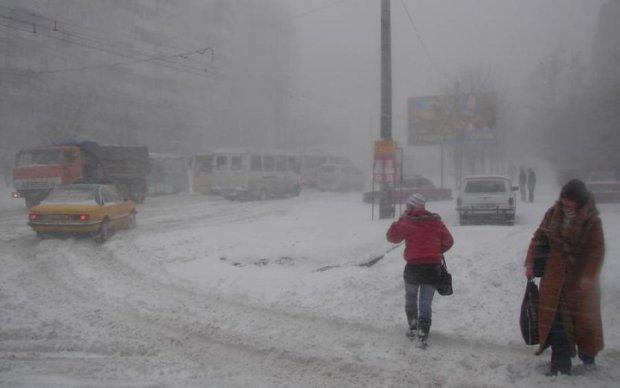 Знову снігопади: яким областям дістанеться найбільше