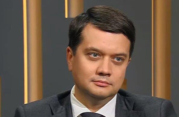"""Спікер Ради Разумков нагадав депутатам про закон і неможливість виборів на Донбасі: """"Під дулами кулеметів"""""""