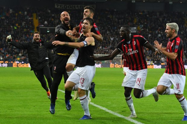 Мілан перервав свою жахливу серію в чемпіонаті Італії