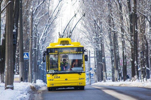 В центре Киева из-за серьёзной аварии перекрыли движение транспорта