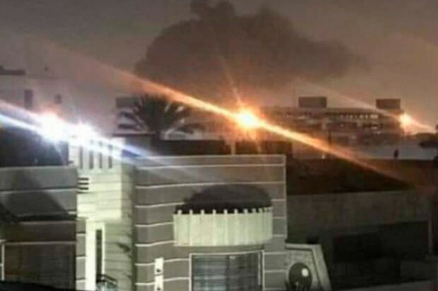 Посольство США попало под горячий обстрел ракет, первые подробности