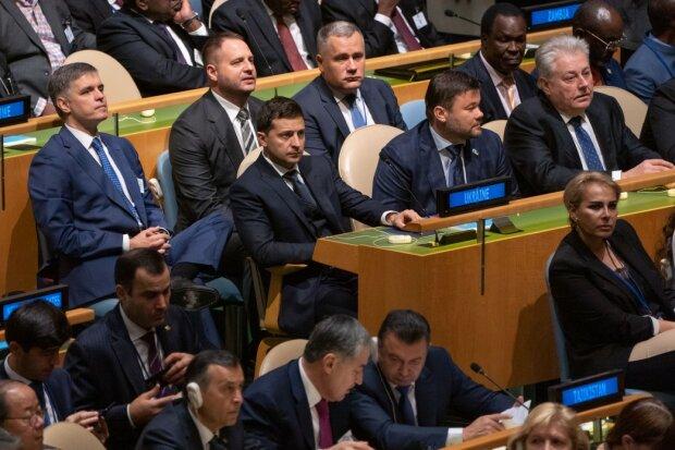 Зеленський в залі ГА ООН