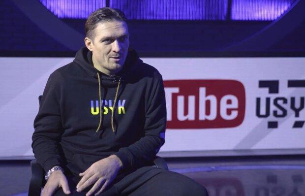 Александр Усик, кадр из интервью: YouTube