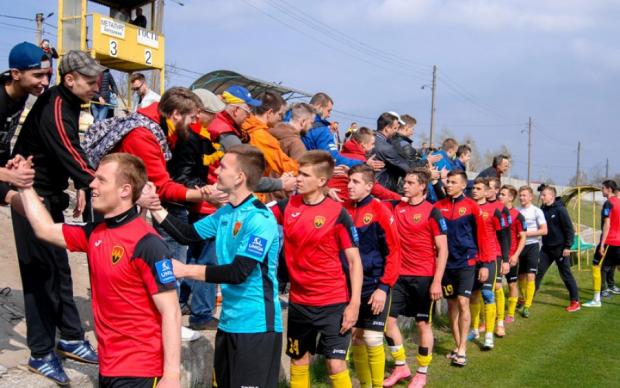 Зафиксировано невероятный счет в футбольном матче украинской Второй лиги