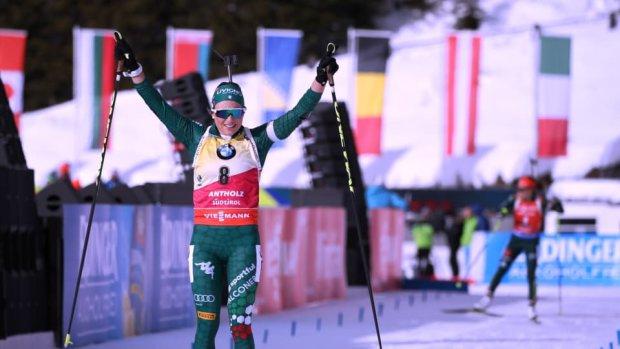 Красавица Вирер выиграла гонку преследования в Антерсельве