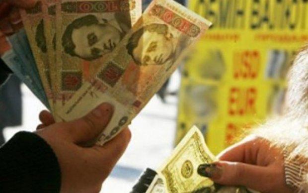 Нацбанк повысил курс гривны к долару
