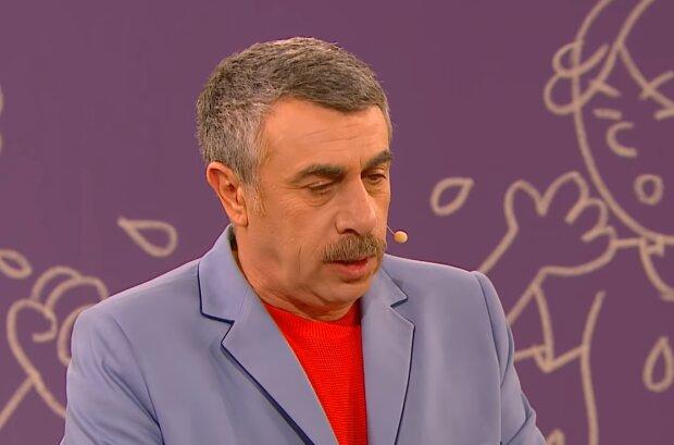 Доктор Евгений Комаровский, кадр из видео