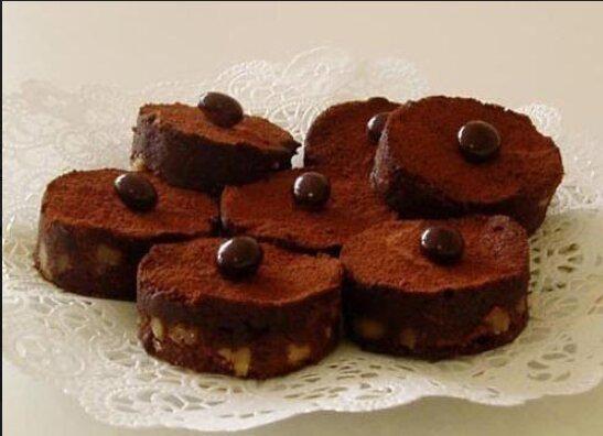 Фирменные шоколадные брауни Панковой, фото Новый канал