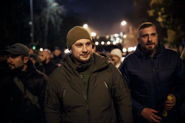 Розведення військ - це катастрофа: ветерани російсько-української війни закликали українців на марш