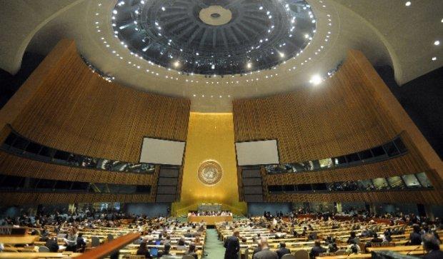 Россия  грозится выгнать Украину из ООН