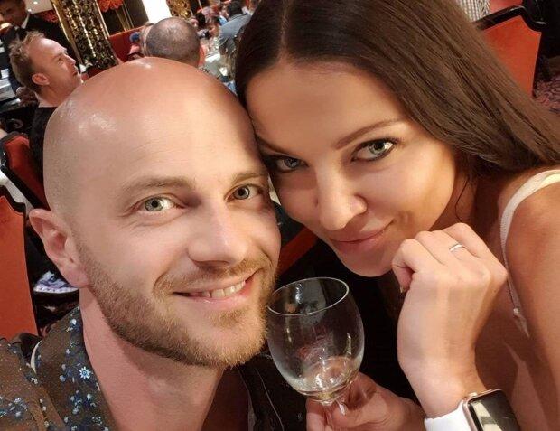 Влад Яма с женой Лилией, фото с Instagram