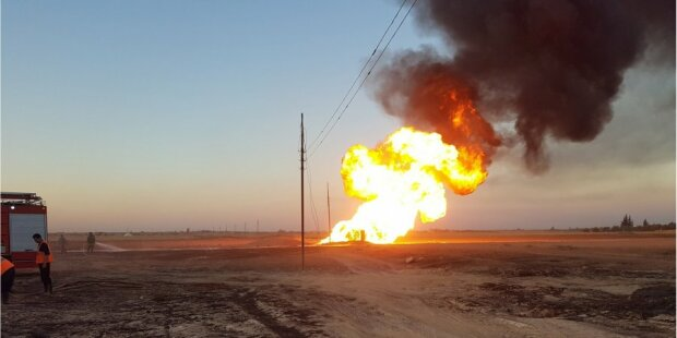 """Мощный взрыв потряс Киевщину, газопровод разорвало на куски: """"Это какая-то жесть"""""""