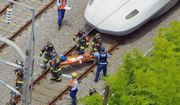 Пассажир поджег себя в поезде-пуле в Японии