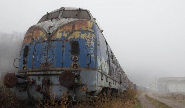 У Криму курсує «поїзд-привид» (фото)