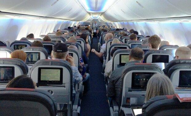 В самолете, фото - Los Angeles Times
